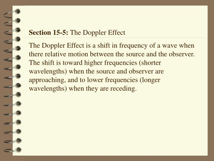 Section 15-5:
