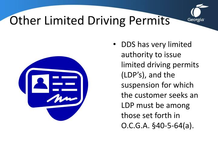 Other Limited Driving Permits