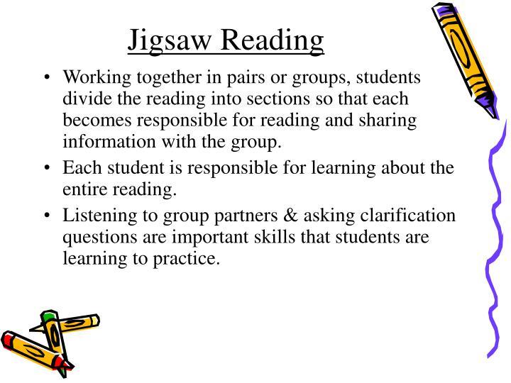 Jigsaw Reading