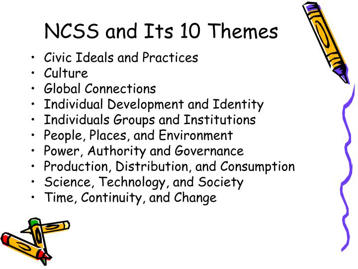 NCSS and Its 10 Themes