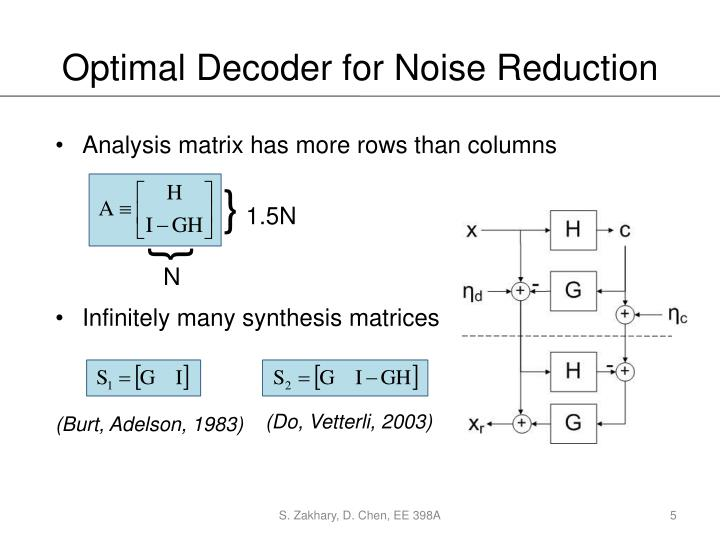 noise reduction in data analysis Read chapter 7 cost-benefit analysis for noise control:  inputs to the analysis should include data from analyses of noise reduction efforts around airports.