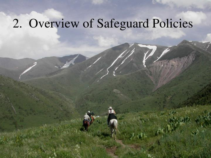 2.  Overview of Safeguard Policies