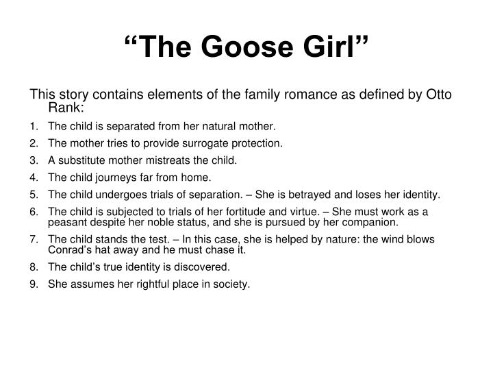 """""""The Goose Girl"""""""