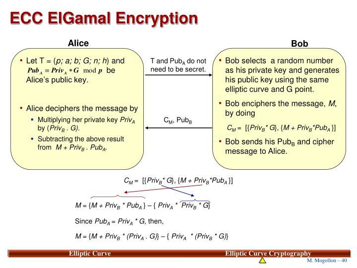 ECC ElGamal Encryption