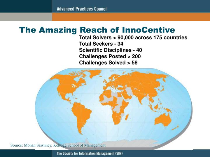The Amazing Reach of InnoCentive