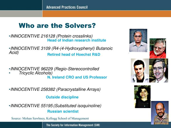 Who are the Solvers?
