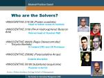 who are the solvers