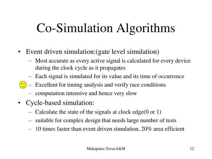 Co-Simulation Algorithms