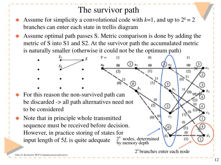 The survivor path
