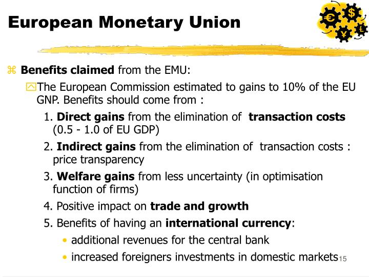 the three phases of monetary integration in the european union