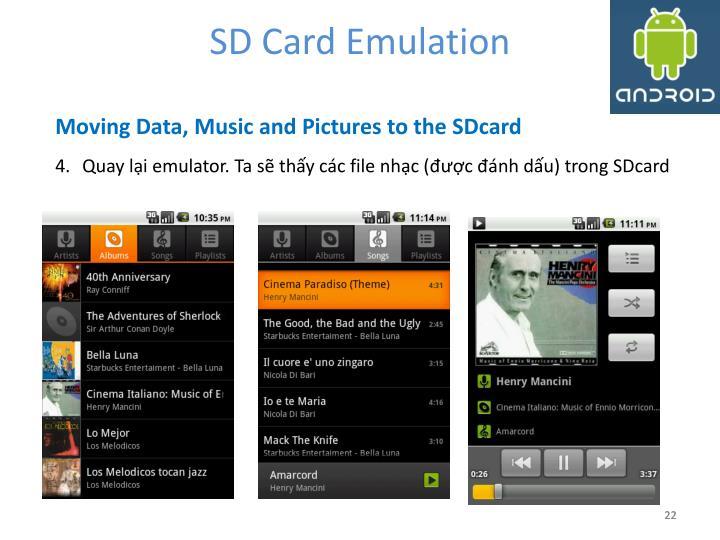 SD Card Emulation