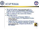 acap website