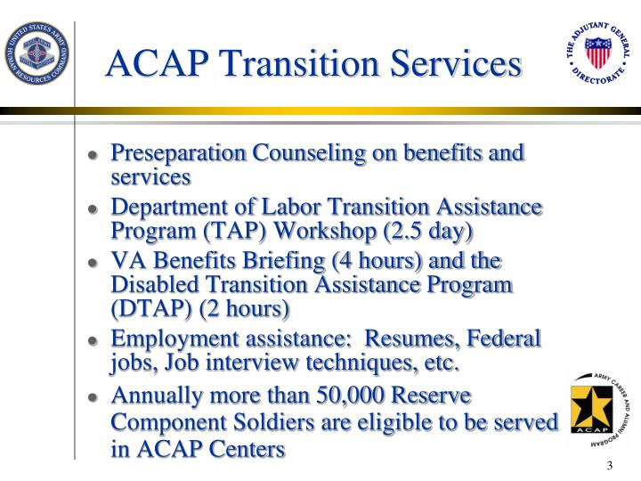 ACAP Transition Services