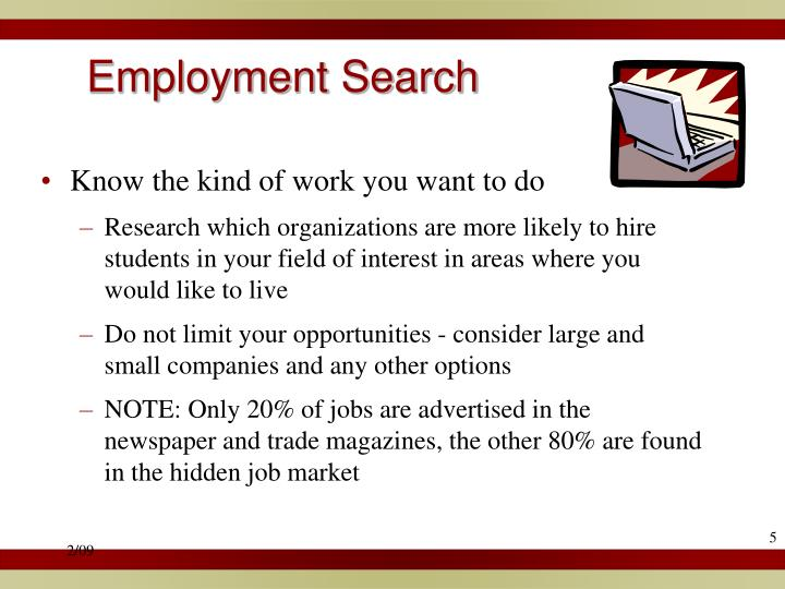 Employment Search