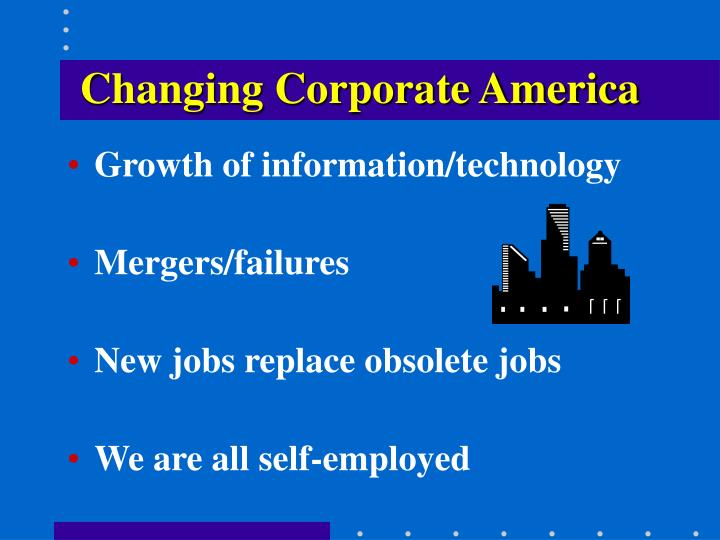 Changing Corporate America