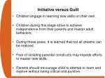 initiative versus guilt
