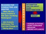 job analys i s