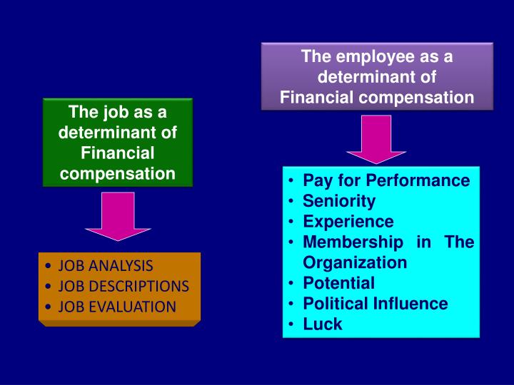 The employee as a determinant of