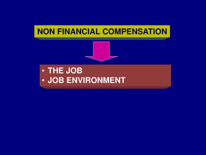 NON FINANCIAL COMPENSATION