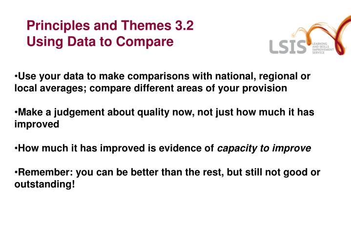 Principles and Themes 3.2