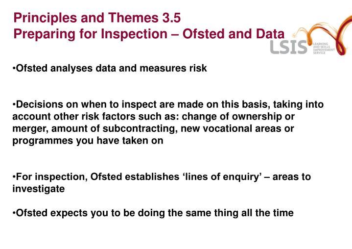 Principles and Themes 3.5
