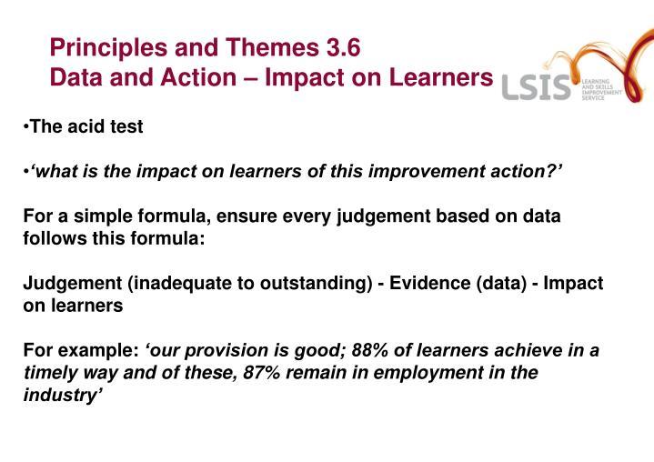 Principles and Themes 3.6