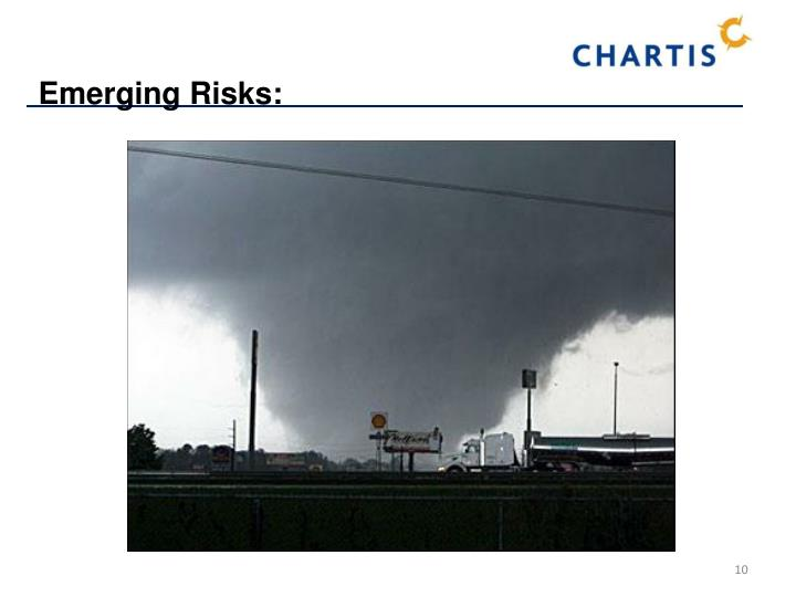 Emerging Risks: