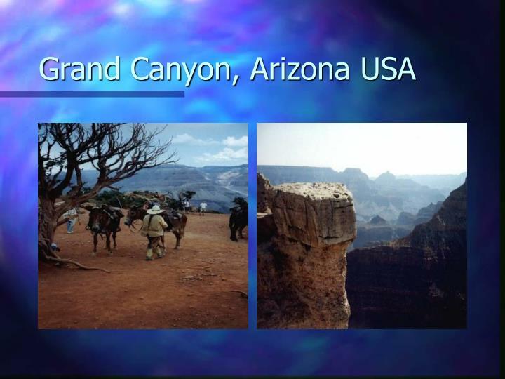 Grand Canyon, Arizona USA