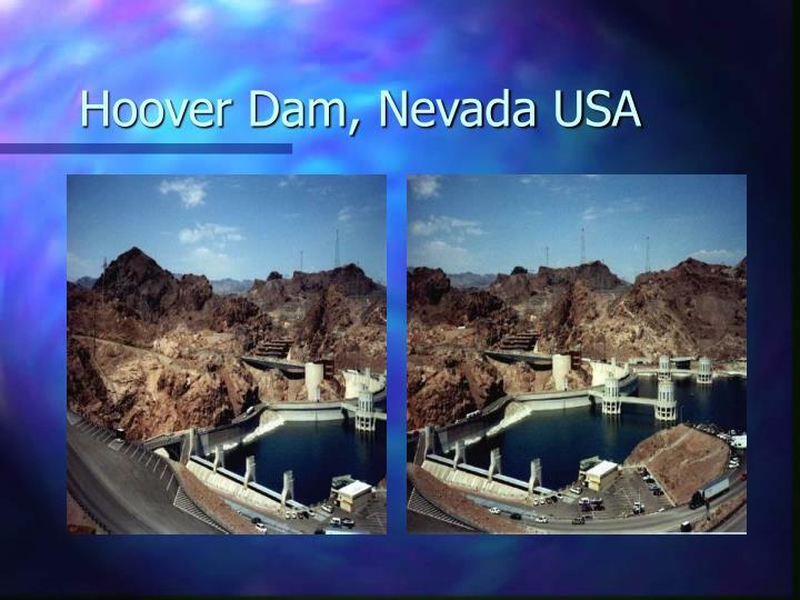 Hoover Dam, Nevada USA