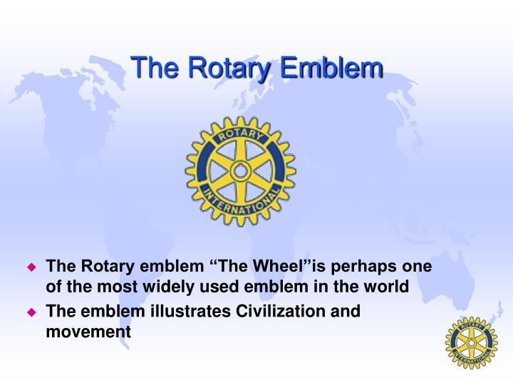 The Rotary Emblem