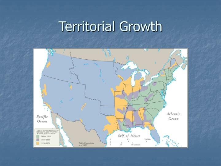 Territorial growth