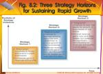 fig 8 2 three strategy horizons for sustaining rapid growth