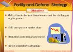 fortify and defend strategy