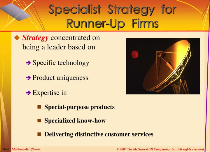 Specialist  Strategy  for