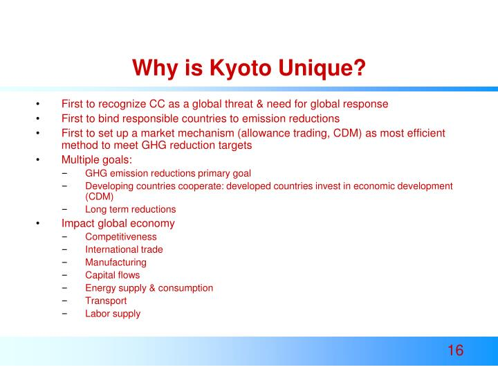 Why is Kyoto Unique?