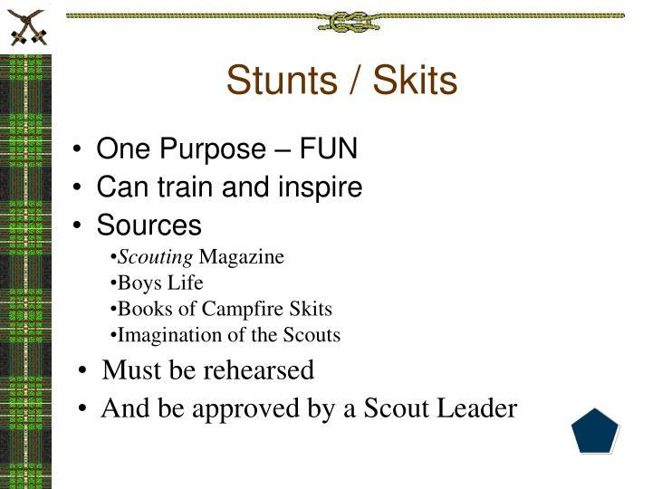 Stunts / Skits