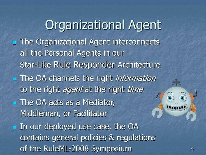 Organizational Agent