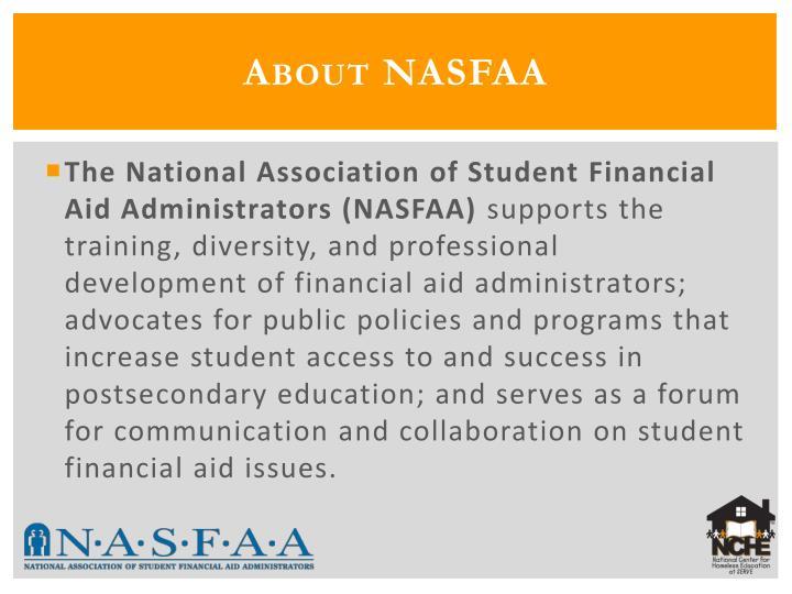 About NASFAA