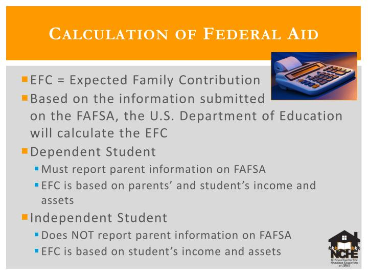 Calculation of Federal Aid