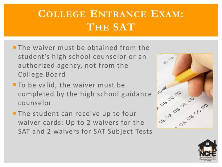 College Entrance Exam: