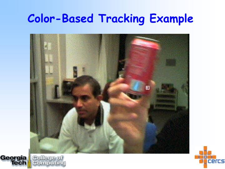 Color-Based Tracking Example