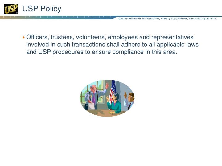 USP Policy