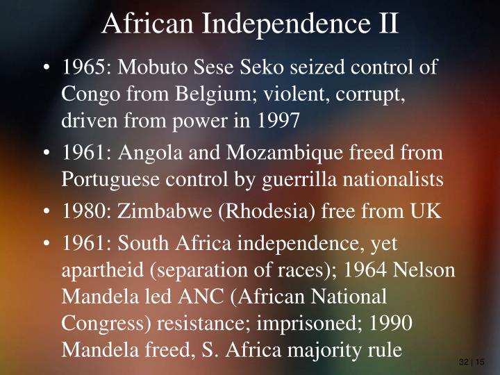 African Independence II