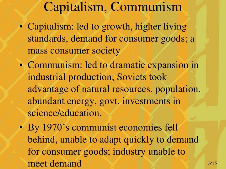 Capitalism, Communism