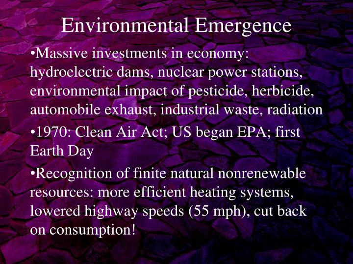 Environmental Emergence
