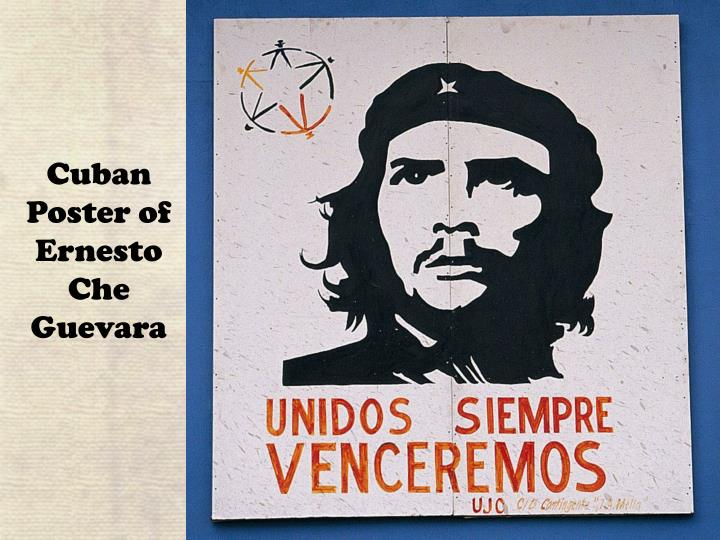 Cuban Poster of Ernesto Che