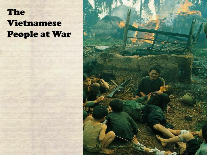 The Vietnamese People at War