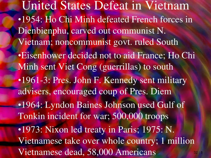 United States Defeat in Vietnam