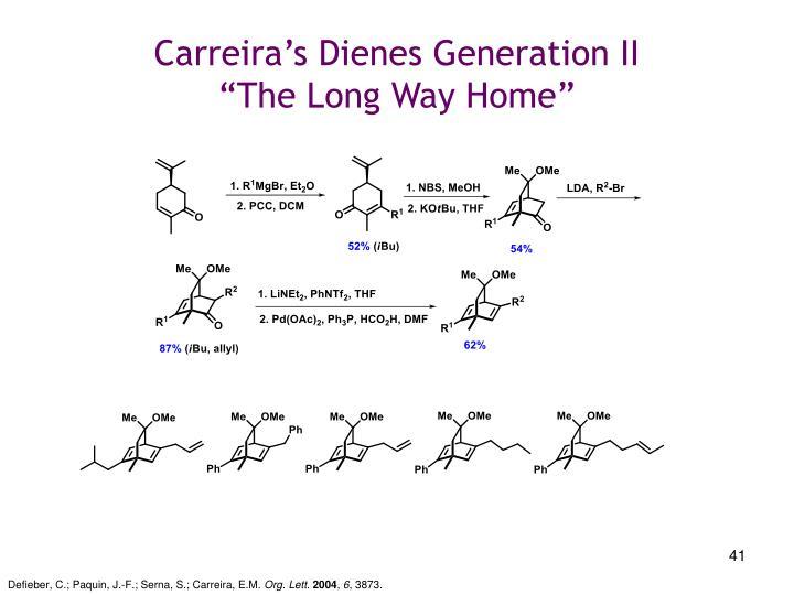 Carreira's Dienes Generation II