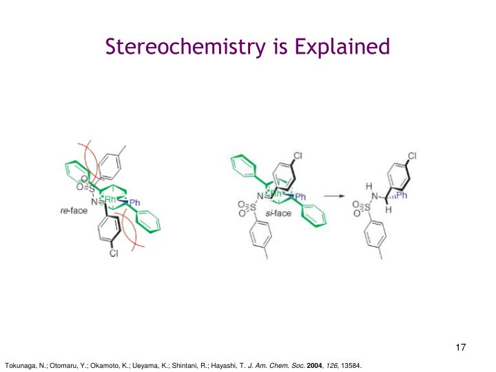 Stereochemistry is Explained